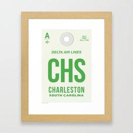 CHS TAG Framed Art Print