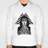 laura palmer Hoodies featuring She's Filled with Secrets - Laura Palmer - Twin Peaks by Alice Rogers