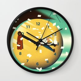 working time Wall Clock