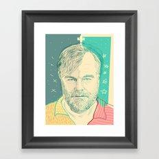 Philip Seymour Hoffman Framed Art Print