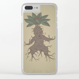 Mandragora Clear iPhone Case
