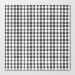 Remember Vichy (grey) Canvas Print
