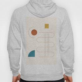Minimal Geometric Shapes 96 Hoody