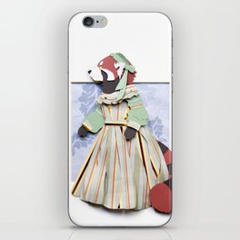Mrs. Red Panda iPhone Skin