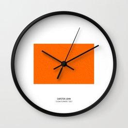 CLICHA FLOWERS I Wall Clock