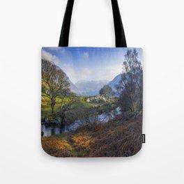 Nant Ffrancon Pass Tote Bag