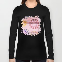 Teredos In The Altogether Flowers  ID:16165-085731-10071 Long Sleeve T-shirt