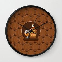 Cognac Wall Clock