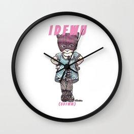 I D F W U Wall Clock