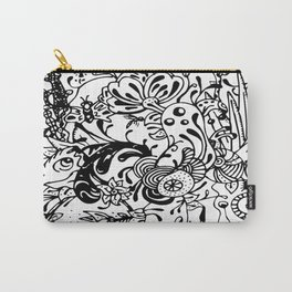 Ink Garden Carry-All Pouch