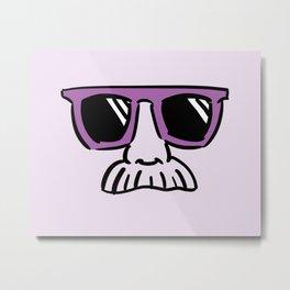 Too Cool (red violet) Metal Print