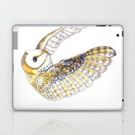 Milo - Australian Masked Barn Owl Laptop & iPad Skin