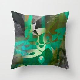 skepticism Throw Pillow