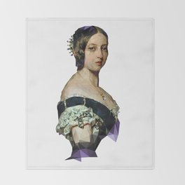 Queen Vicky Throw Blanket