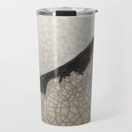 Edge of raku ceramic vase - Perfect imperfection! Travel Mug