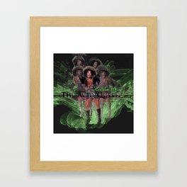 Keisha D as The Acid Queen Framed Art Print