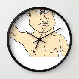 Ol' Crackhead Wall Clock