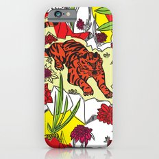 Tiger On The Prowl Slim Case iPhone 6s