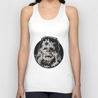chewbacca Tank Tops featuring Chewbacca by LaurenNoakes