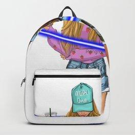 tow girl mild one wild one light cross them Backpack