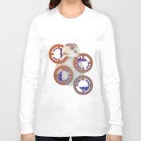 starwars Long Sleeve T-shirts featuring StarWars BB8 by Joshua A. Biron