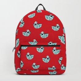 Dinnerware sets - panda in a bowl Backpack