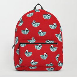 Dinnerware sets - panda in a bowl Backpack