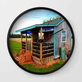 Gar's Tavern Wall Clock