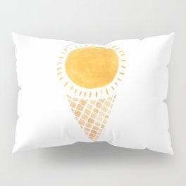 Sun Ice Cream Cone Pillow Sham
