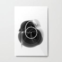 Dark Math. 6 Metal Print
