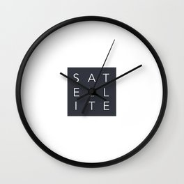 Satellite 2 Wall Clock