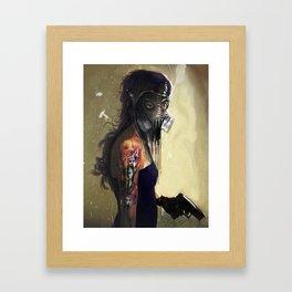 Fighting In a Dream  Framed Art Print