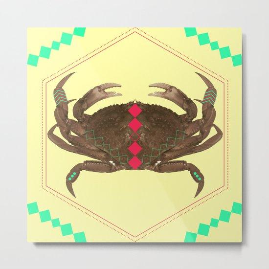 even more symetric crab Metal Print