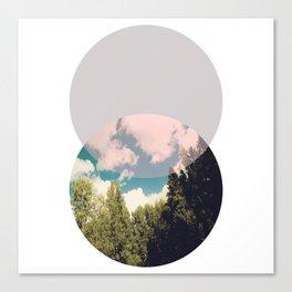 Minimalist Geometric Art Canvas Print