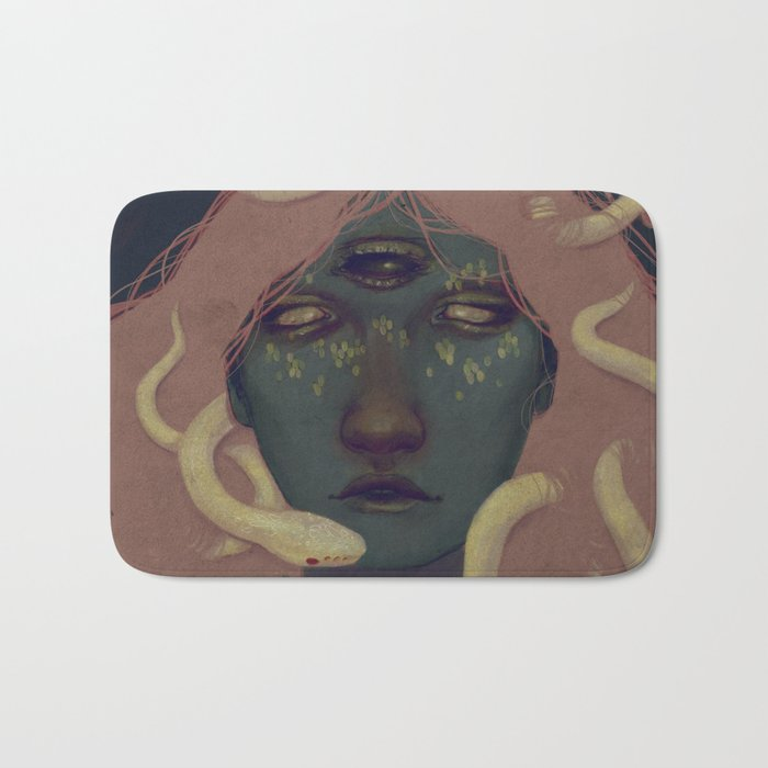 of witches and pets Bath Mat