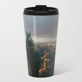 Sunrise Over the City Travel Mug