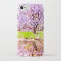 arnold iPhone & iPod Cases featuring Spring at Arnold Arboretum by LudaNayvelt