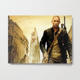 WillSmith 01 Metal Print