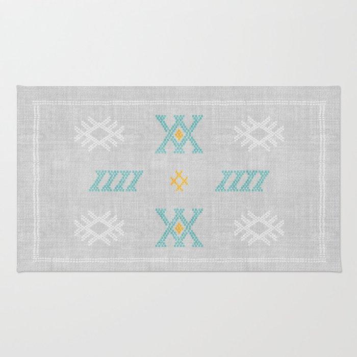 Morocco Kilim in Grey Rug