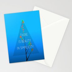 Simple Tree ( series ) Stationery Cards