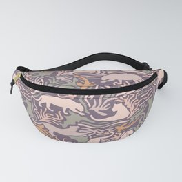 Big Cats and Fishes Fanny Pack