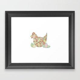 Henny Penny - Decorative Chicken Framed Art Print