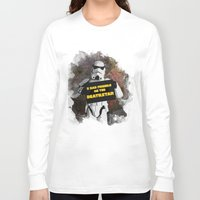 storm trooper Long Sleeve T-shirts featuring Storm Trooper by ZeebraPrint