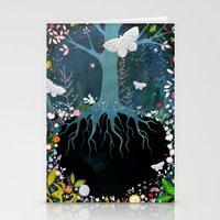 velvet underground Stationery Cards featuring Underground by Danse de Lune