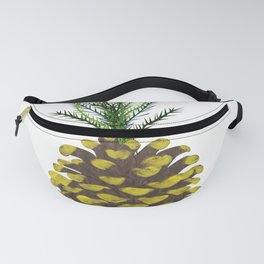 Pineapple Pine Cone Fanny Pack
