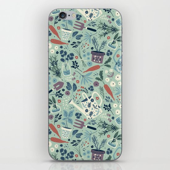 Herb Garden iPhone & iPod Skin