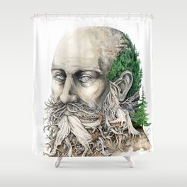 Element : Earth Shower Curtain