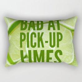 Pick Up Limes Rectangular Pillow