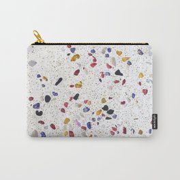 primary terrazzo Carry-All Pouch