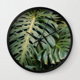 Deep Jungle Wall Clock